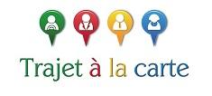 Logo covoiturage quotidien www.trajetalacarte.com