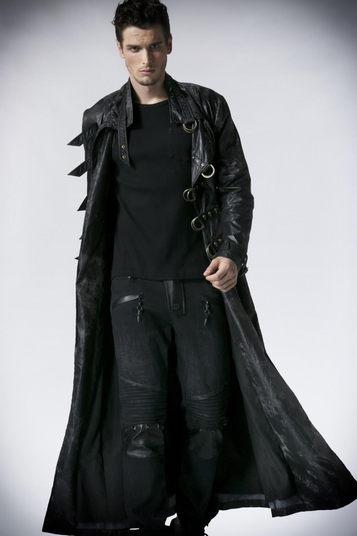 Manteau long homme