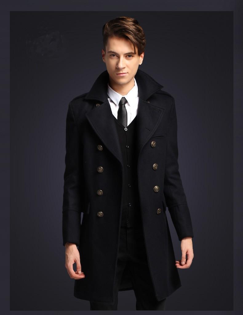 manteau long homme de l 39 l gance en revendre. Black Bedroom Furniture Sets. Home Design Ideas